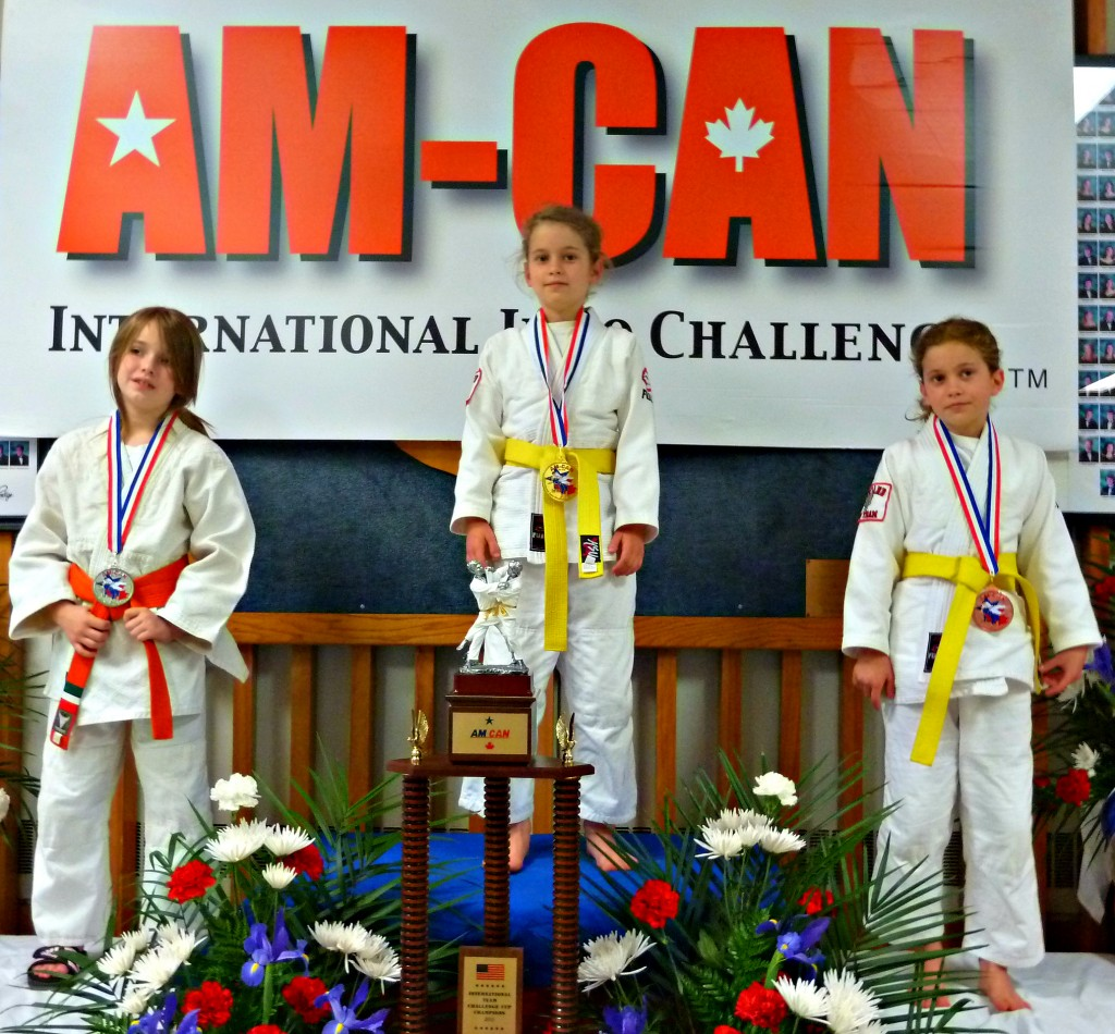 Shufu Juniors Excel At 2013 AM-CAN International Judo Challenge