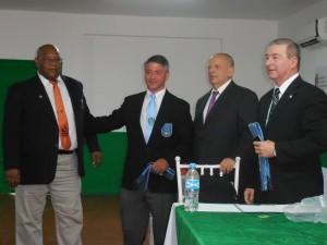 Karl Tamai receiving his IJF-A Certification