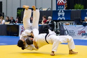 Look familiar?  Karl and Diane hitting Ura Nage again at the nationals