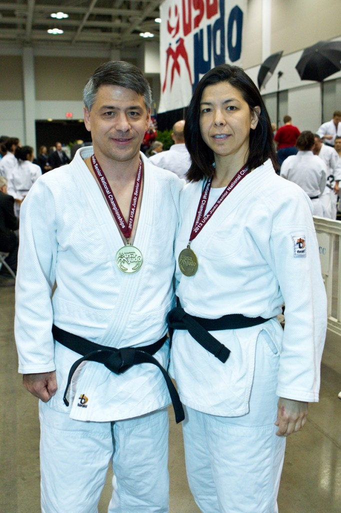 Karl Tamai and Diane Tamai Jackson Win Gold in Mixed Nage No Kata with Highest Nage Score of 2013 Nationals