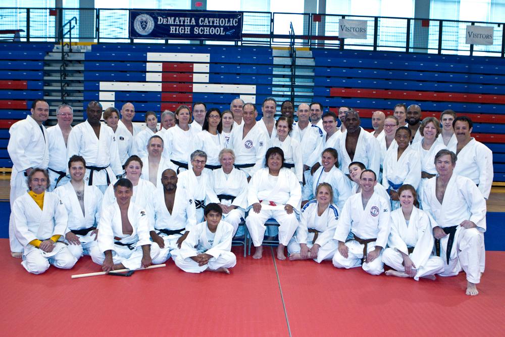 Participants in the 2013 Goshin Jutsu Clinic