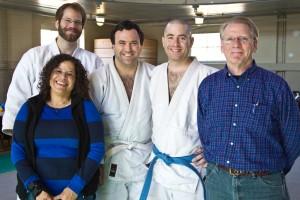 Rosaura Gonzalez, Chris Mattern, Brad Foster, Justin Schaffner, and Tim Redden