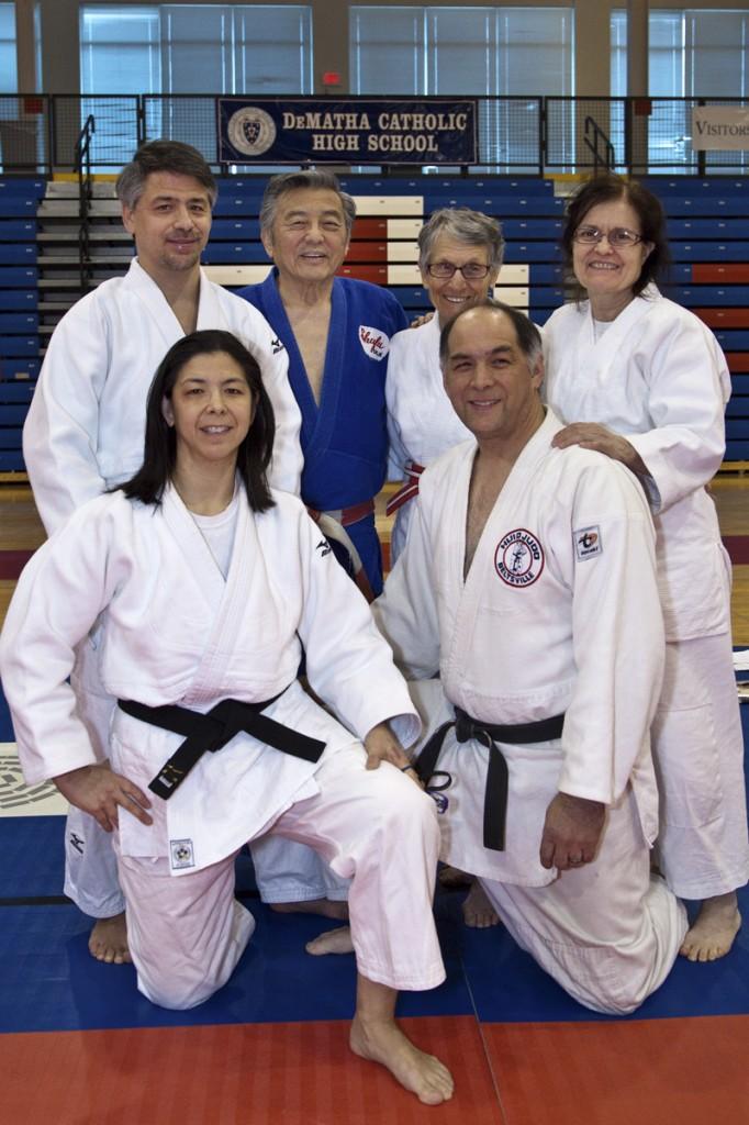 Top: Senseis Karl Tamai, Takemori, Vall, Whilden Top: Senseis Jackson, Kevin Tamai