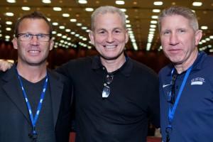 Olympians Joe Marchal, Brett Baron, and Michael Swain