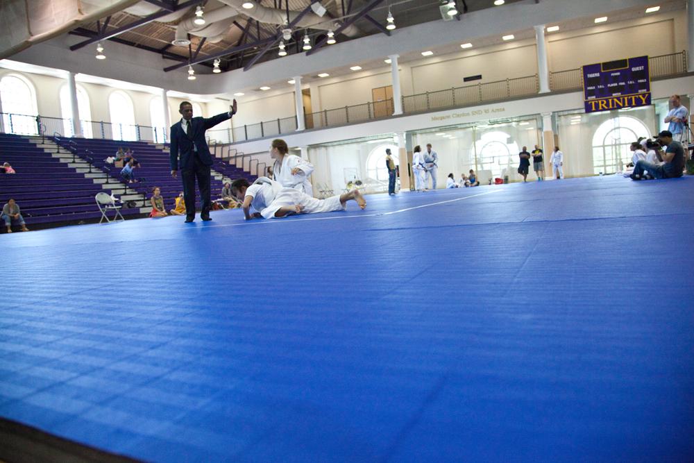 D.C. Judo's New Mats