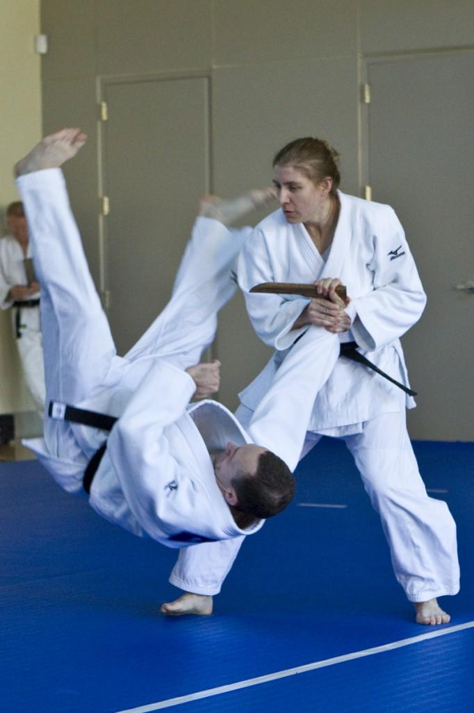 Dr. Lisa Capriotti and Rob Gouthrou