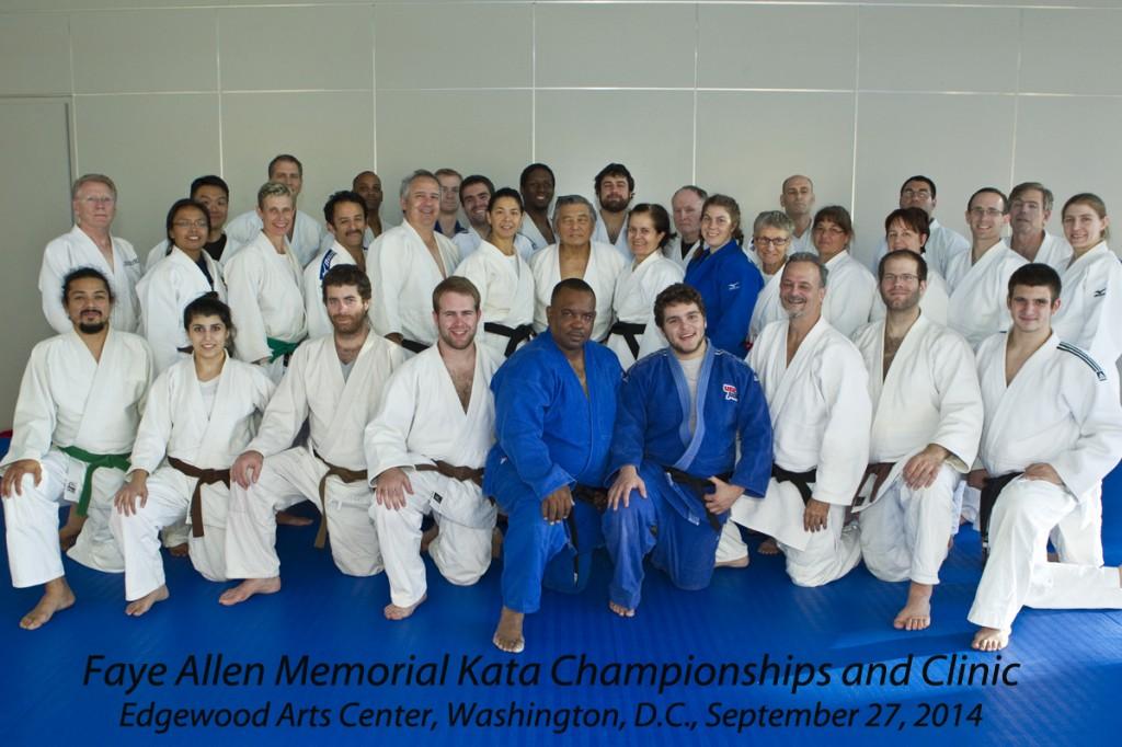 Faye Allen Kata Clinic Participants