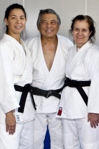 Senseis Jackson, Takemori, and Whilden