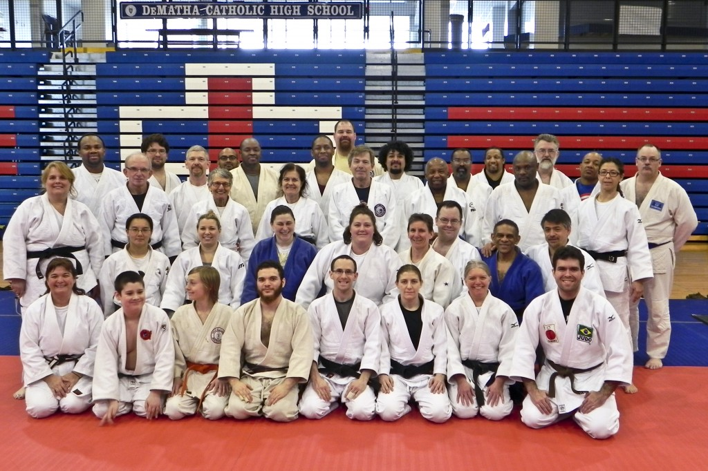 2014 Katame No Kata Clinic Participants