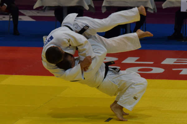 Gerardo Tello and Sergio Suguieda performing Nage No Kata