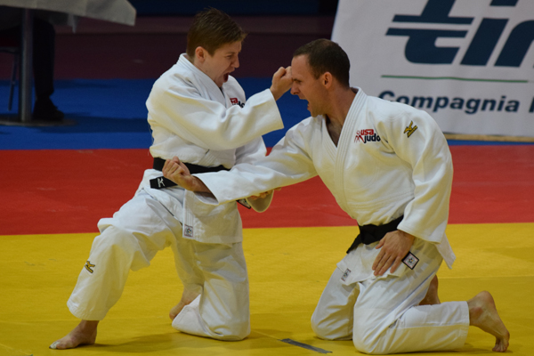 Lisa Capriotti and Rob Gouthro performing Kime No Kata