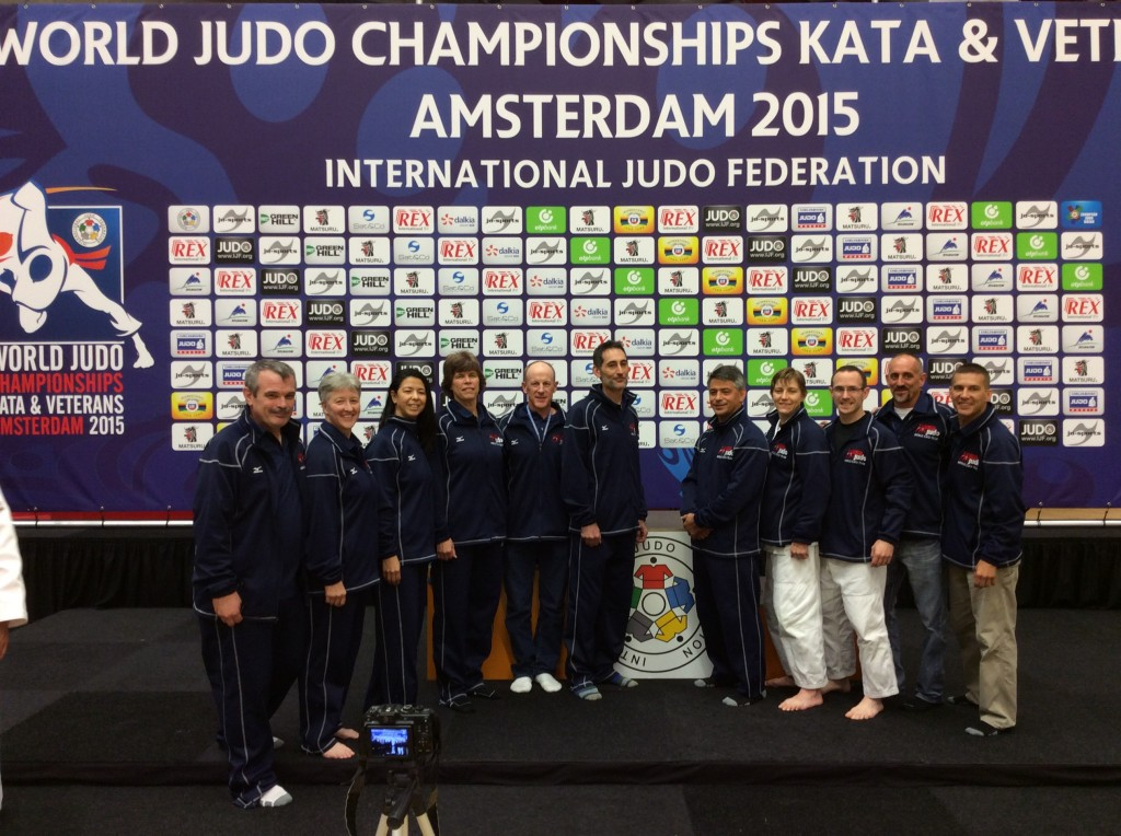 USA Team Competes at 2015 7th World Kata Championship in Amsterdam