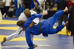 Damani Ingram Throwing for Ippon