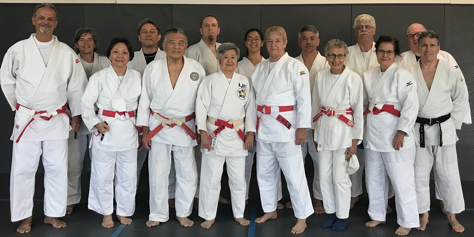 High-Ranking Judoka Attend Shufu Kata Clinic; Dick Hugh Sensei Honored