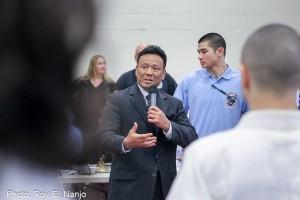 USJF President Kevin Asano