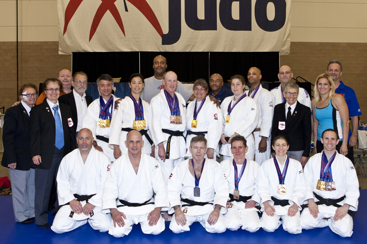 Teram Shufu at the 2015 National Judo Championships