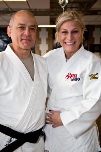 Olympians Craig Agena and Kayla Harrison