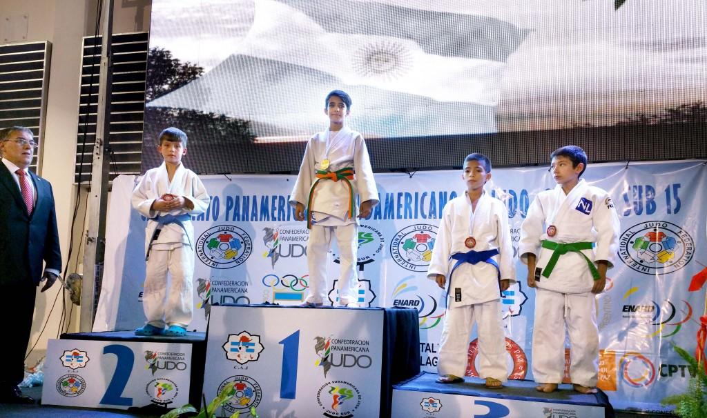 Alex Tamai, at left