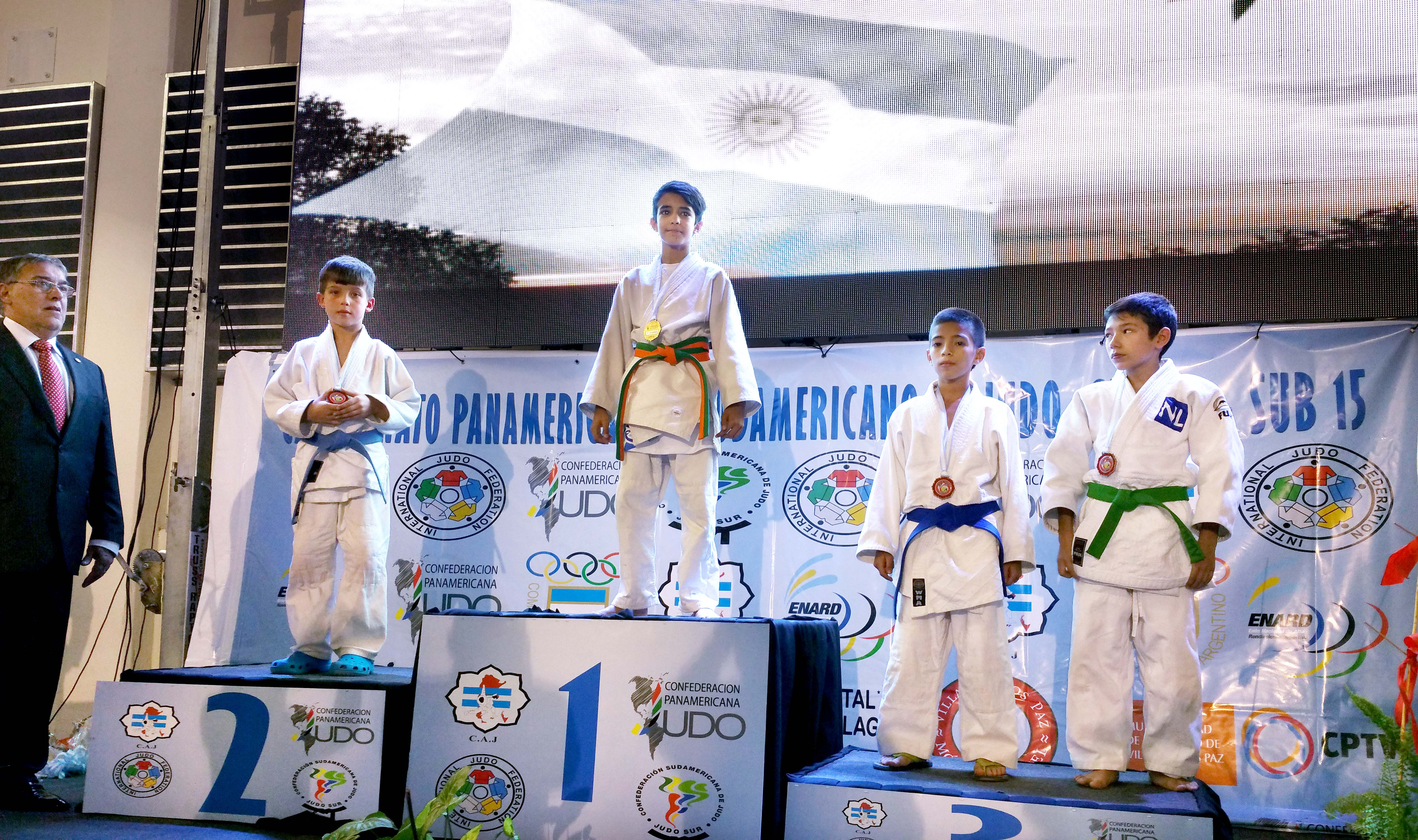 Warrick and Tamai Place at Junior Pan American Championships