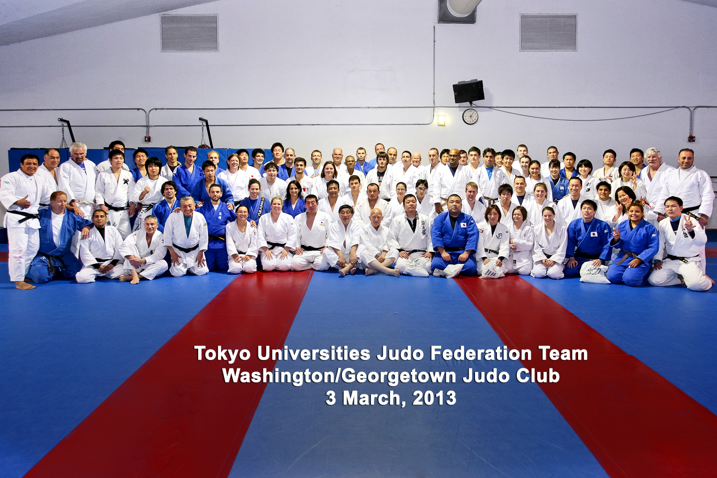 Tokyo Universities Team at Georgetown