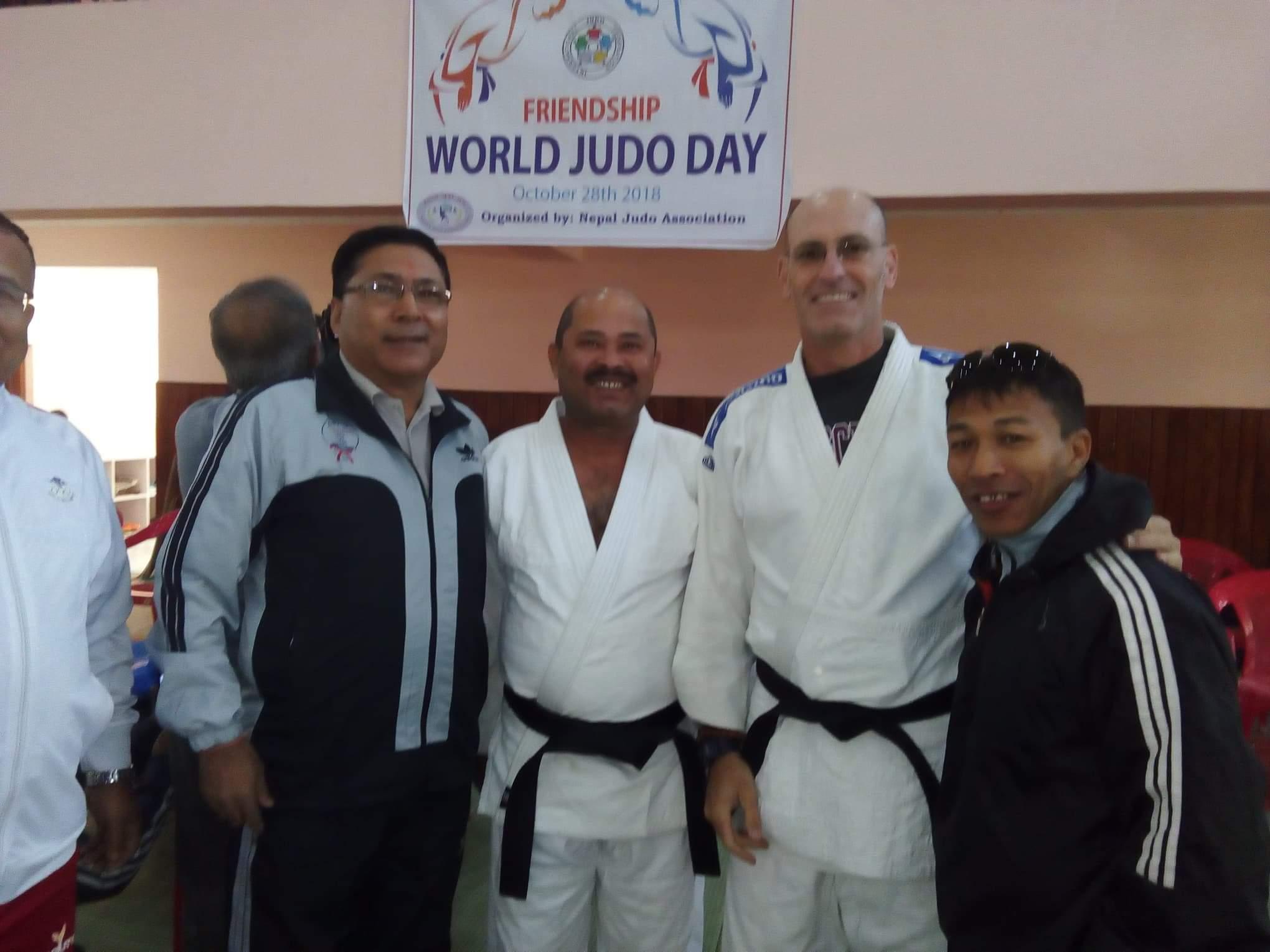 Wayne Lifshitz in Nepal for World Judo Day | Shufu Judo